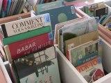 Présentation de la Bibliothèque des plages à Anglet