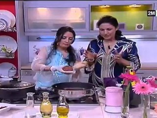 Choumicha Badia Senhaji - kefta farci aux oeufs