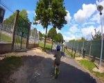 Choc vélo Lucas