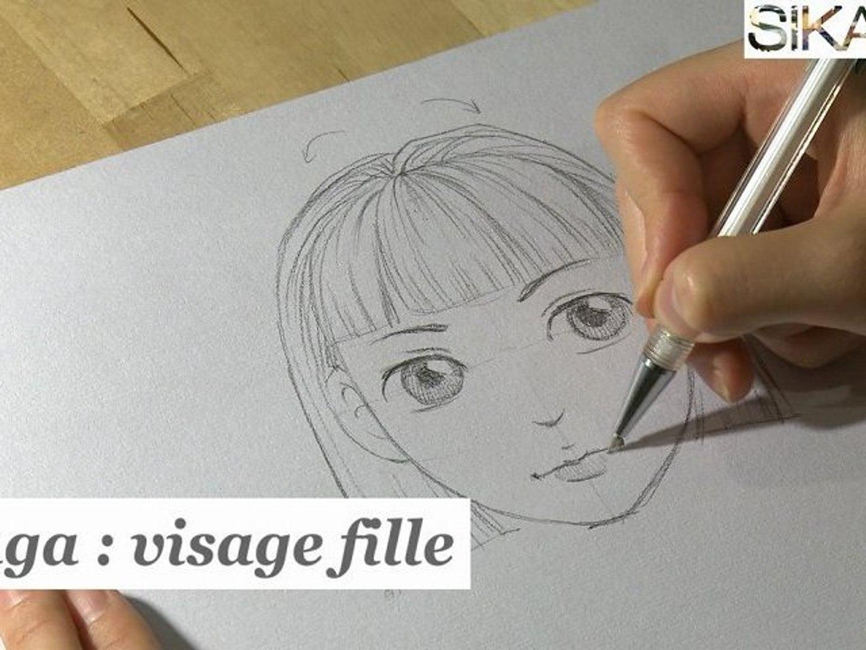 Manga Comment Dessiner Un Visage De Fille Hd