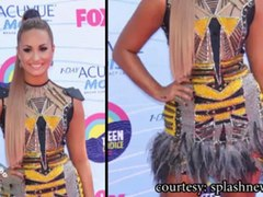Selena Gomez Taylor Swift Demi Lovato Nina Dobrev STUN at the 2012 Teen Choice Awards