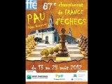 Championnat de France d'échecs 2012 à Pau
