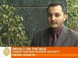 Tensions along the Egypt-Gaza border