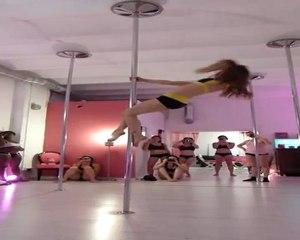 Workshop impro Jenyne Butterfly (may 2012) : Pole Dance Marseille