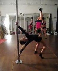 Pole Dance Academy Marseille : 1er TG (mai 2010)
