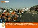 Al Jazeera Steve Chow reports from Natori, Japan
