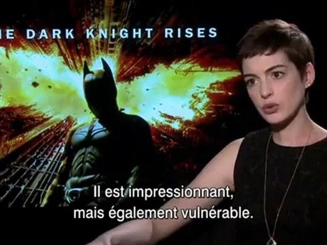 The Dark Knight Rises - Interview Anne Hathaway