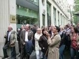 JT   L assurance début 2012, Groupama prépare des départs, les agents Generali défilent (Full HD)