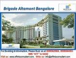 Brigade Altamont @ 09999620966, Brigade Hennur Road Bangalore, Brigade Altamont Bangalore