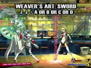 Labrys de Persona 4 Arena