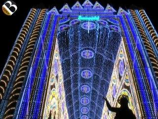 Santa Flavia: la cattedrale di luci