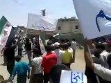 Syria فري برس درعا إنخل مظاهرة تضامنا مع كافة المدن المنكوبة 24 7 2012 Daraa