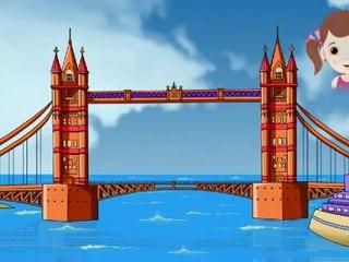 London Bridge Is Falling Down - Nursery Rhymes with Full Lyrics