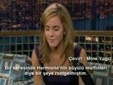 Emma Watson at Tonight Show with Conan O'Brien (2009)  PART 1