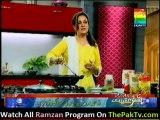 Shan Ki Lazat Bushra Ke Sath - 26th July 2012 - [Das qeema, Aloo Ki Chaat ] - Part 2