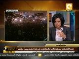 المتظاهرون يدعمون المتاريس لمنع تقدم الأمن #Nov20 #tahrir