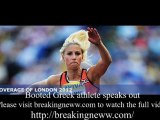 Banned Greek triple jumper 'bitter and upset' after racist tweet gets her kicked out of Olympics