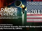 Amazing Karaoke Premium - Party Rock Anthem (Karaoke Version With Backg