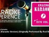 Amazing Karaoke - Sailing (Karaoke Version) - Originally Performed By Rod Stewart