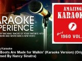 Amazing Karaoke - These Boots Are Made for Walkin' (Karaoke Ver