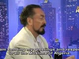Mr. Adnan Oktar's message to the Algerian people to be broadcasted in the Algerian state television