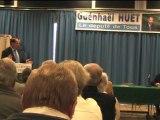 législatives 2012 : réunion publique de Guénhaël Huet (UMP) - Avranches (50) - vendredi 15 juin 2012