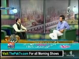 Aaj Subh with Ali Salman - 27th July 2012 Part 1