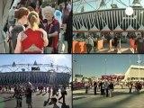 Londres dans l'attente de la cérémonie d'ouverture des...