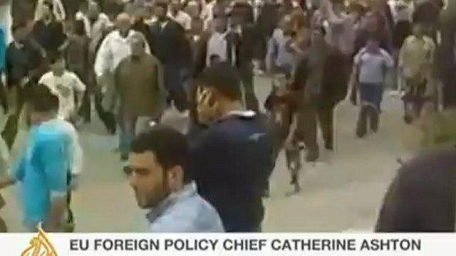 Razan Zaitouneh, a human rights lawyer speaks to Al Jazeera