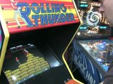 Classic Game Room - ROLLING THUNDER arcade game review
