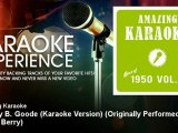 Amazing Karaoke - Johnny B. Goode (Karaoke Version) - Originally Performed By Chuck Berry