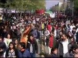 Disturbios y protestas estudiantiles en Chile