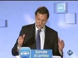 """Rajoy: """"Que traten a los españoles como personas sensatas e inteligentes"""""""