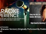 Hollywood Karaoke - Angels (Karaoke Version) - Originally Performed By Robbie Williams
