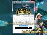 League of Legends Pax Sivir Skin Code Free Giveaway