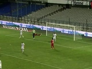 Résumé Ligue 2 - 1ère journée : AJ Auxerre / Nîmes