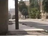 Syria فري برس درعا المحطة اشتباكات بمخفر المخيم 27 7 2012 ج2 Daraa