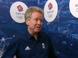 UK Olympics chief Colin Moynihan reacts to first GB medal
