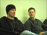 Nickelback 2006 interview -  Ryan Peake and Daniel Adair (part 1)