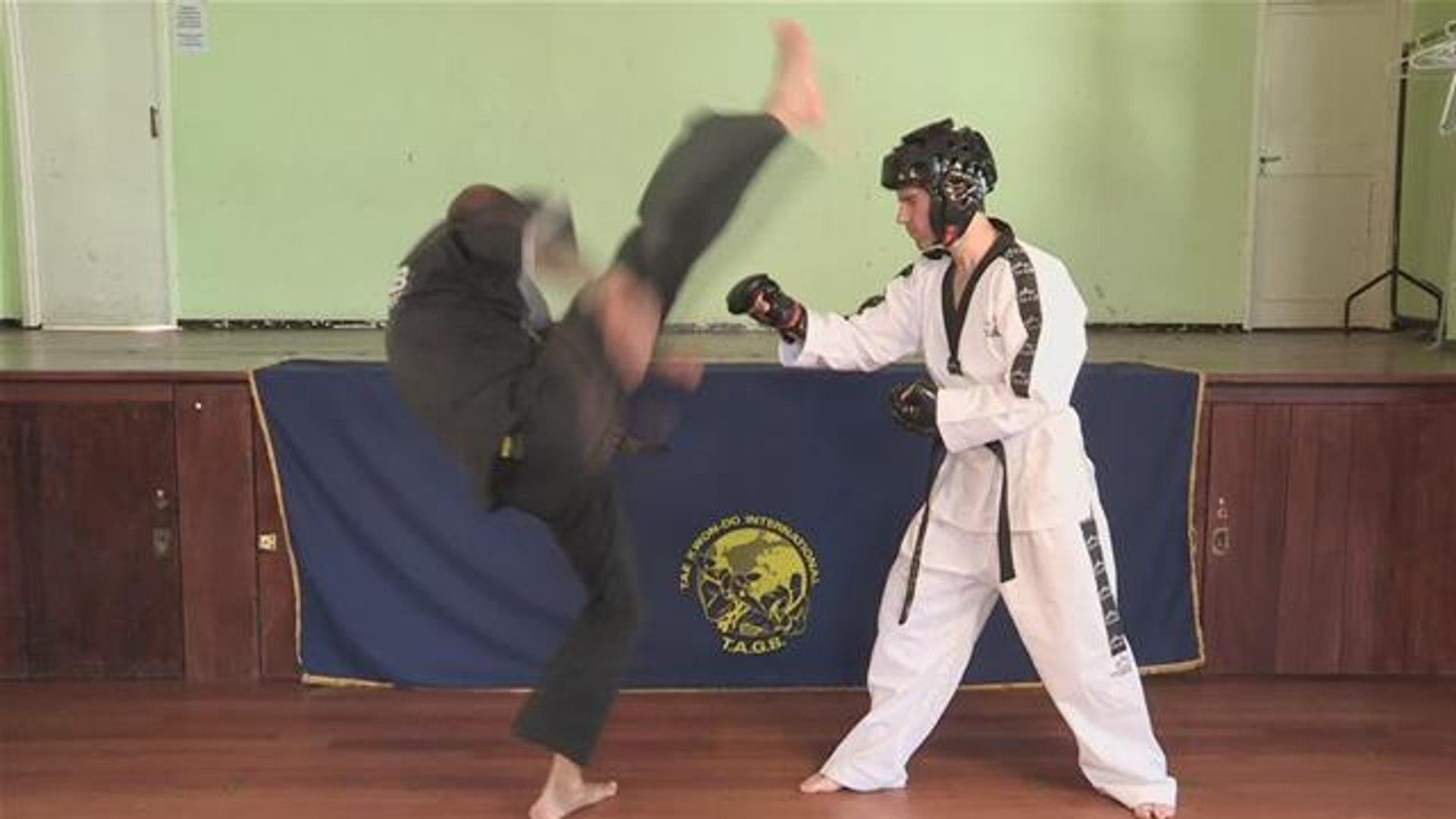 Taekwondo Downwards Kick Tutorial