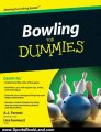 Sports Book Review: Bowling For Dummies (For Dummies (Lifestyles Paperback)) by A.J. Forrest, Lisa Iannucci