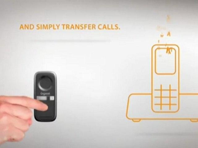GIGASET L410: clip mains libres pour téléphones fixes