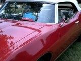 1969 Pontiac Lemans - 2 door convertible Pontiac Lemans. Classic car!
