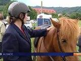 Gunsbach : 1er concours d'équitation islandaise