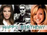 Celebrity Birthdays on 30th July - Hollywood Birthday Special