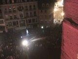 Funambulisme avec Paul Aour Scenes de Rue 2012 Prise de Vue du Haut du Temple