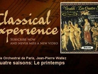 Antonio Vivaldi : Les quatre saisons : Le printemps - ClassicalExperience