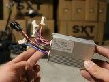 Trottinettes electriques / SXT scooters / boitier électrique 500 watt 36 v / trotinette electrique
