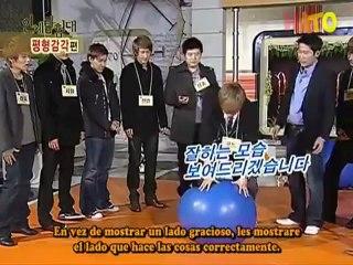 Explorando el cuerpo humano con Super Junior 6-1 sub esp