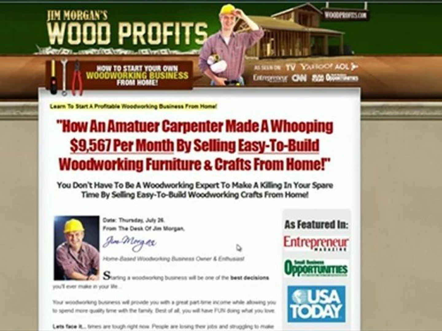 How To Start A Woodworking Business Video Dailymotion
